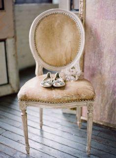 Diamond Ballet Flats #ballet #flats #wedding