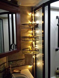 camper makeover on pinterest trailer interior rv. Black Bedroom Furniture Sets. Home Design Ideas