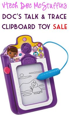 VTech Doc McStuffins Doc's Talk and Trace Clipboard Toy Sale: $12.50!