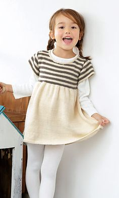 Ravelry: Momo Little Dress pattern by Pierrot (Gosyo Co., Ltd) #free