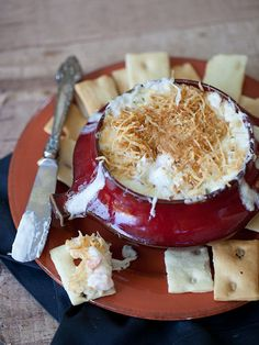 Hot Shrimp Creamy Cheese Dip | foodiecrush.com