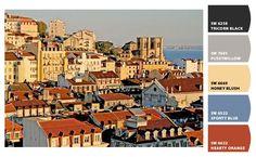 Urban Color Schemes: Lisbon