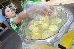 Lemonade contest gives kids a taste of business