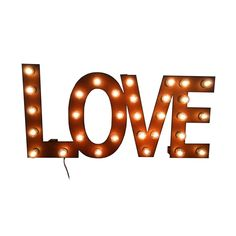 All You Need is Love Marquee Sign | dotandbo.com