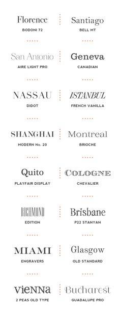 Good Serif Fonts