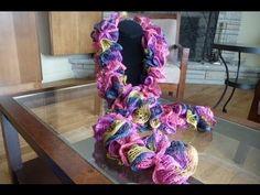 How to create a scarf using Sashay yarn