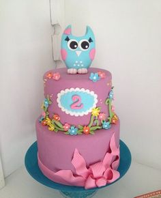 My Sweet Owl!!! - by Zsigny @ CakesDecor.com - cake decorating website