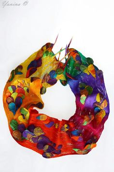 Yanina nuno felted scarf