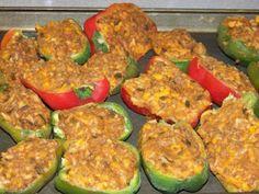 Freezing stuffed peppers