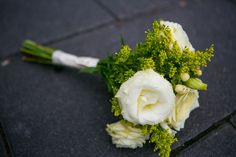 Soft White And Green Bouquet, by eco|stems