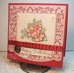 Stampin' Up! SU by Vicki Burdick, It's A Stamp Thing
