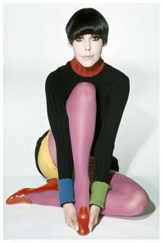 1971 - Peggy Moffitt in Rudi-Gernreich by William Claxton