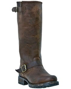 Womens Reading Boot - Dark Brown by dingo