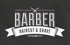 Barber Shop Vintage Label (Free Download) on Behance