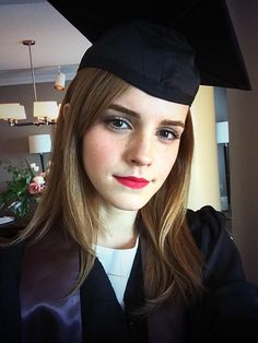 Emma Watson Graduates From Brown University! - Us Weekly.  Congrats to Emma!!!