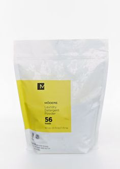 Laundry Detergent Powder by Modere is concentrated to give you clean, fresh clothes.