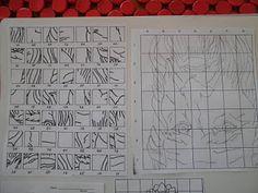 Teaching Art: Grid Drawing