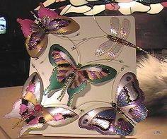 butterflies from plastik bottles - tutorial and butterfly templates