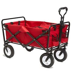 Origami Solid-Frame Folding Utility Wagon with Cooler at HSN.com.