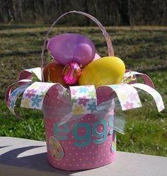 Homemade Easter Baskets & Paper Baskets - Tip Junkie
