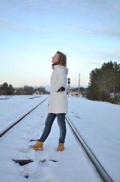 Challenge the winter with Timberland (FB photo credit: Mileta Navickaite)
