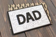 Multiple Mustache Card. Make It Now in Cricut Design Space.