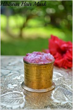 DIY Homemade Hibiscus Hair Mask Recipe