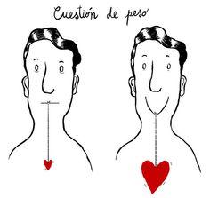 heart, weights, cuestión de, cuestion de, inspir, frase, smile, de peso, quot