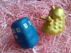 Dr Who cake pops @Katy Zimmerman