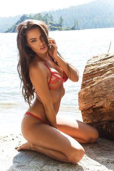 American model Constance Nunes