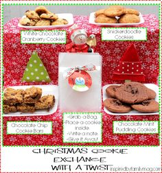 Cookie Exchange with a Twist - A wonderful way to integrate our Xmas traditions and serving others.
