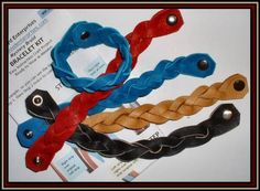 "How to make ""Mystery Braids"".  These are great handles for basket as well as bracelets."