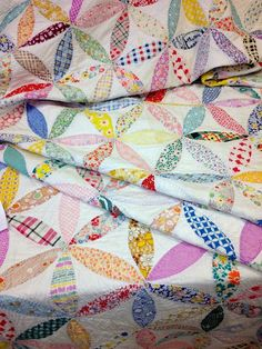 pretty quilt from Canton Village Quilt Works