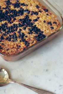 baked oatmeal -- the best!