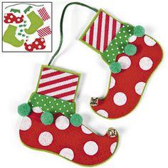 Elf Feet Ornament Craft