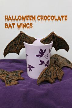 Halloween Chocolate Bat Wings