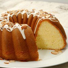 Gluten-Free Almond Bundt Cake - Rich and fragrant, this is an easy way to transform your gluten-free cake mix into an elegant dessert.