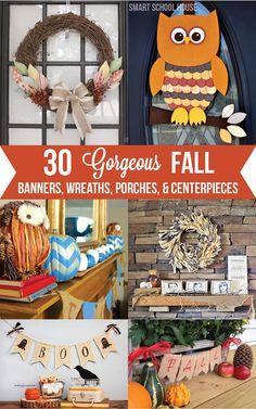 30 Gorgeous Fall Decor Ideas