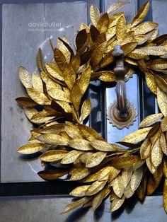 ~golden wreath...