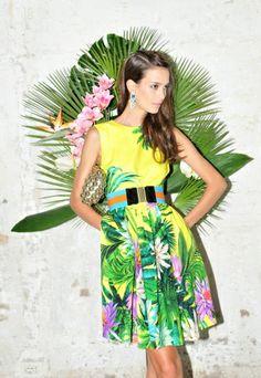 msgm spring summer 2012 fashion  resort tropical