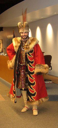 Master Zygmunt in his pimpin' polish coat!