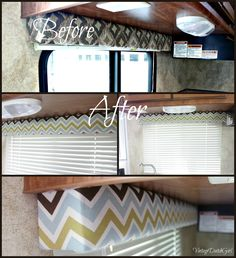 vintage rv trailers pictures of makeover | Vintage Dutch Girl: Travel Trailer Makeover, Part 5: Recovering Window ...