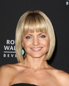 Mena Suvaris sophisticated bob