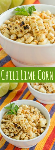 Chili Lime Corn - a