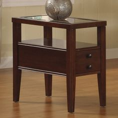 Have to have it. Riverside Avenue Chair Side Table - $270 @hayneedle