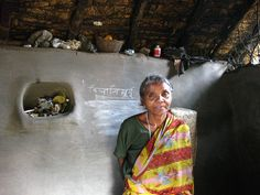 When Trickle Up staff visited Bilasi Murmu, a participant from India, she took some chalk and wrote her name on the wall. Through our local partners, we train participants to sign their names, and they practice in their savings groups when they sign the group's ledger. Here, Shukla shows us how proud she is of finally mastering this important skill!