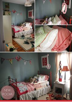 Not only do we share a name, I love this little girls room!