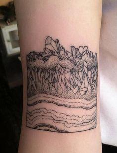 Geology Tattoo by Rachel Hauer