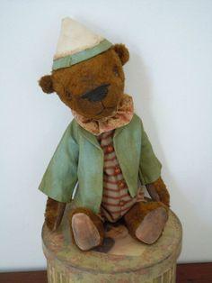 Ofelio Circus Bear Ooak by PatriBears on Etsy, $165.00