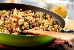 Lighter Skillet Beef & Vegetables